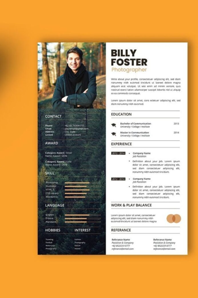 branding acura design professional resume cover letter template for on fiverr graphic Resume Professional Graphic Design Resume