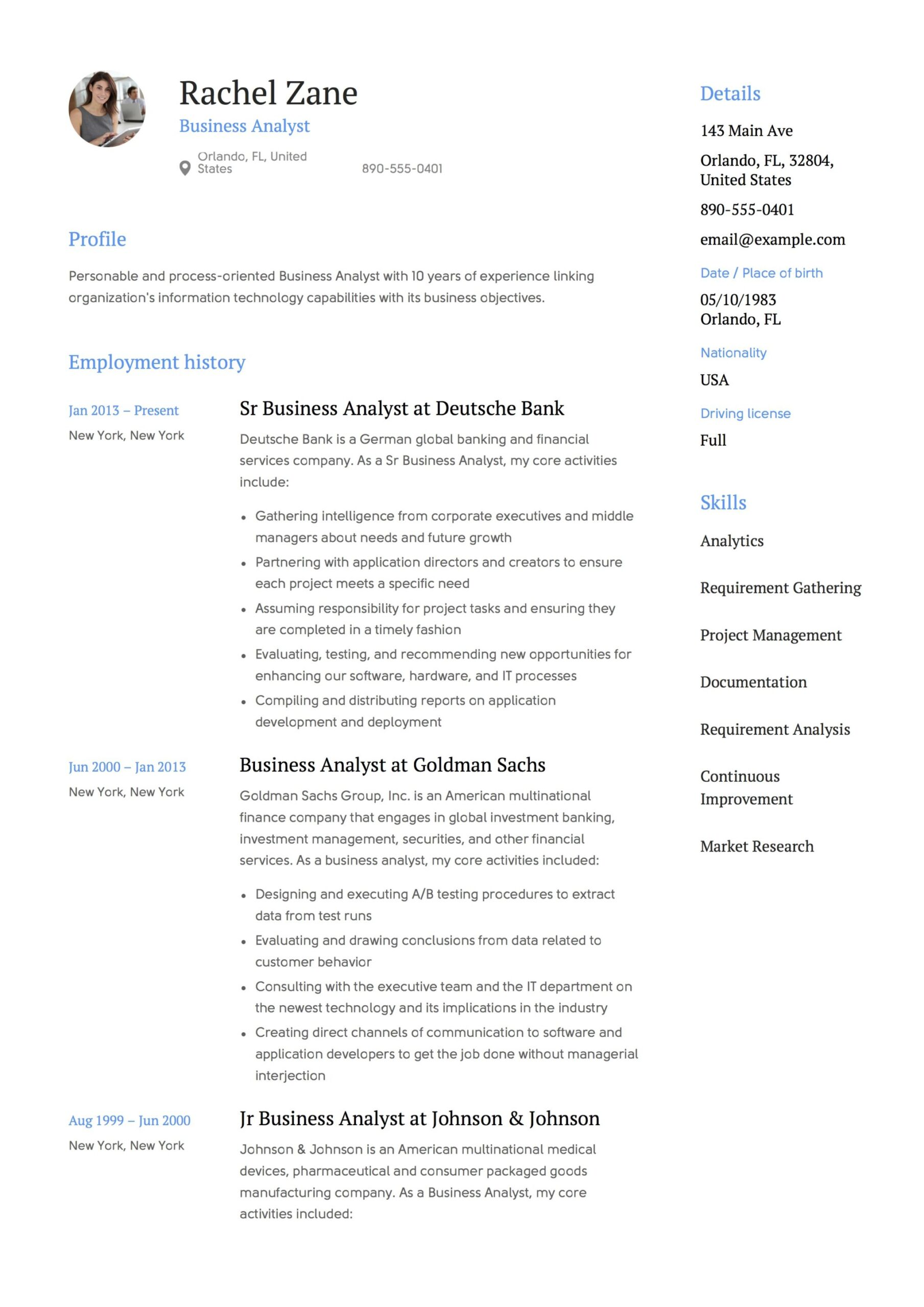 business analyst resume guide templates pdf free downloads format for fresher sample vice Resume Resume Format For Business Analyst Fresher
