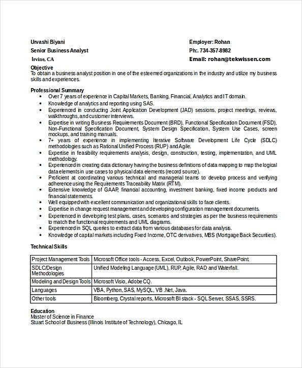 business analyst resume indeed senior work sample template email for sending summary vs Resume Business Analyst Resume Indeed