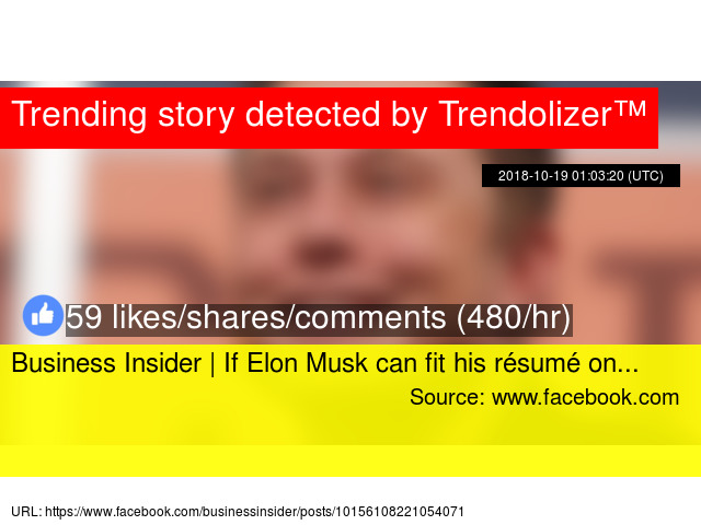 business insider if elon musk can fit his on resume caption general labor format for Resume Business Insider Elon Musk Resume