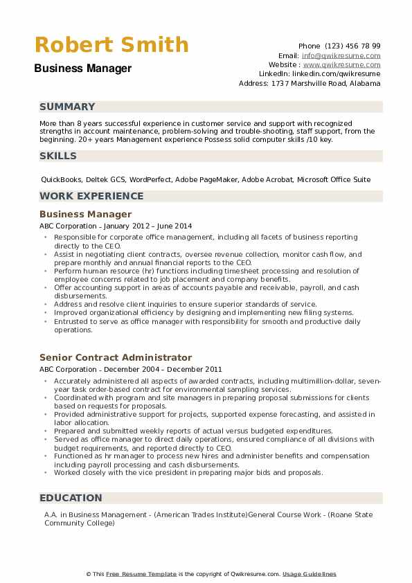 business manager resume samples qwikresume template pdf certified surgical technologist Resume Business Resume Template