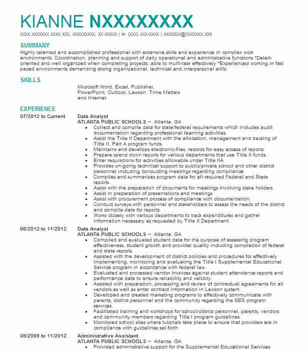by data analyst resumes samples resume format summary for desktop support skills template Resume Data Analyst Summary For Resume