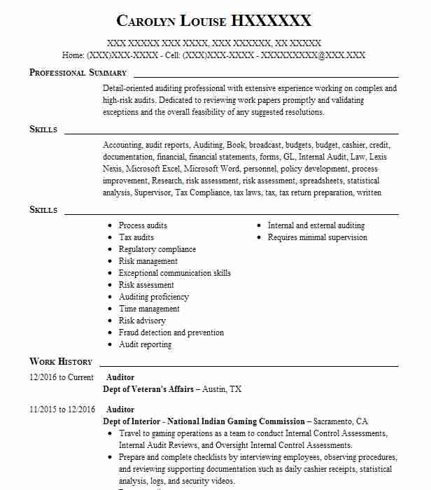 by it auditor resume samples format financial good bullet points for college student Resume Financial Auditor Resume