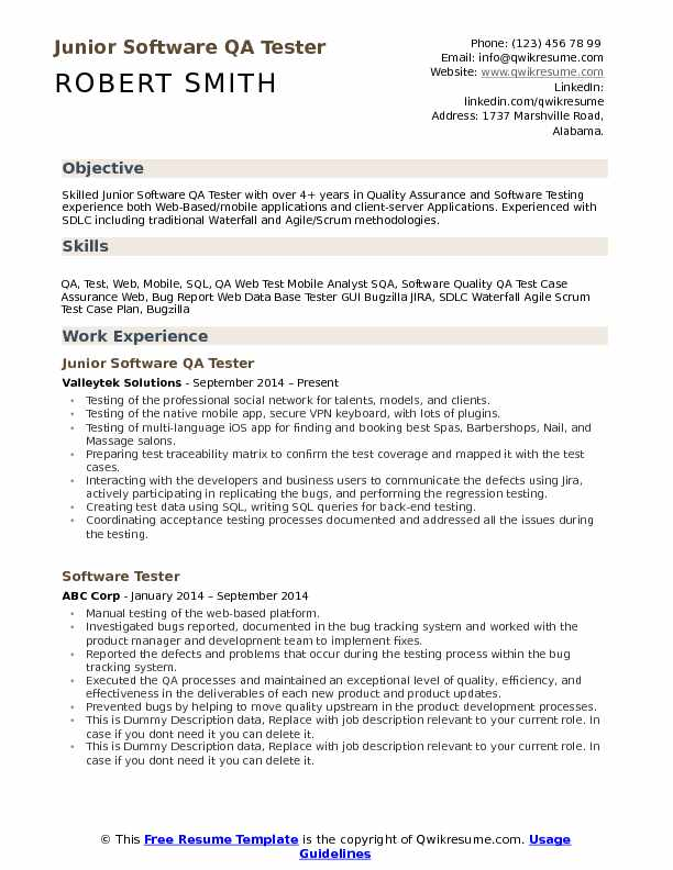 by qa analyst resume samples format quality assurance sample office manager financial Resume Quality Assurance Analyst Resume Sample