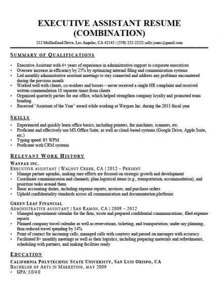 by qualification on resume format highlights of qualifications job description secretary Resume Highlights Of Qualifications On Resume