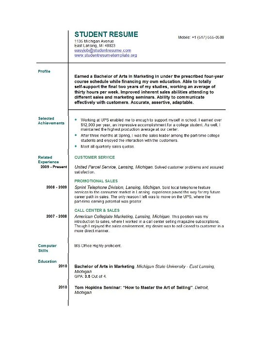 by resume samples for first job format teenager post production coordinator help blog Resume Resume For Teenager First Job