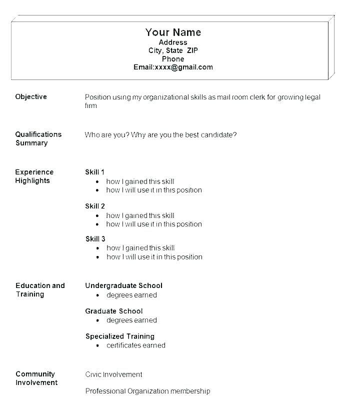by simple resume format example examples free writing sites vendor development sample Resume Simple Resume Format Examples