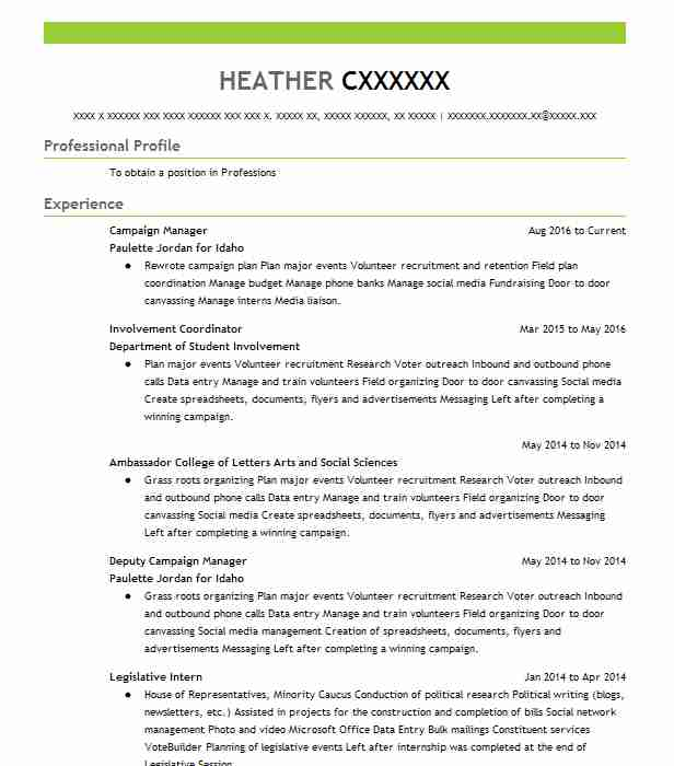 campaign manager resume example resumes misc livecareer guaynabo performance template Resume Campaign Manager Resume