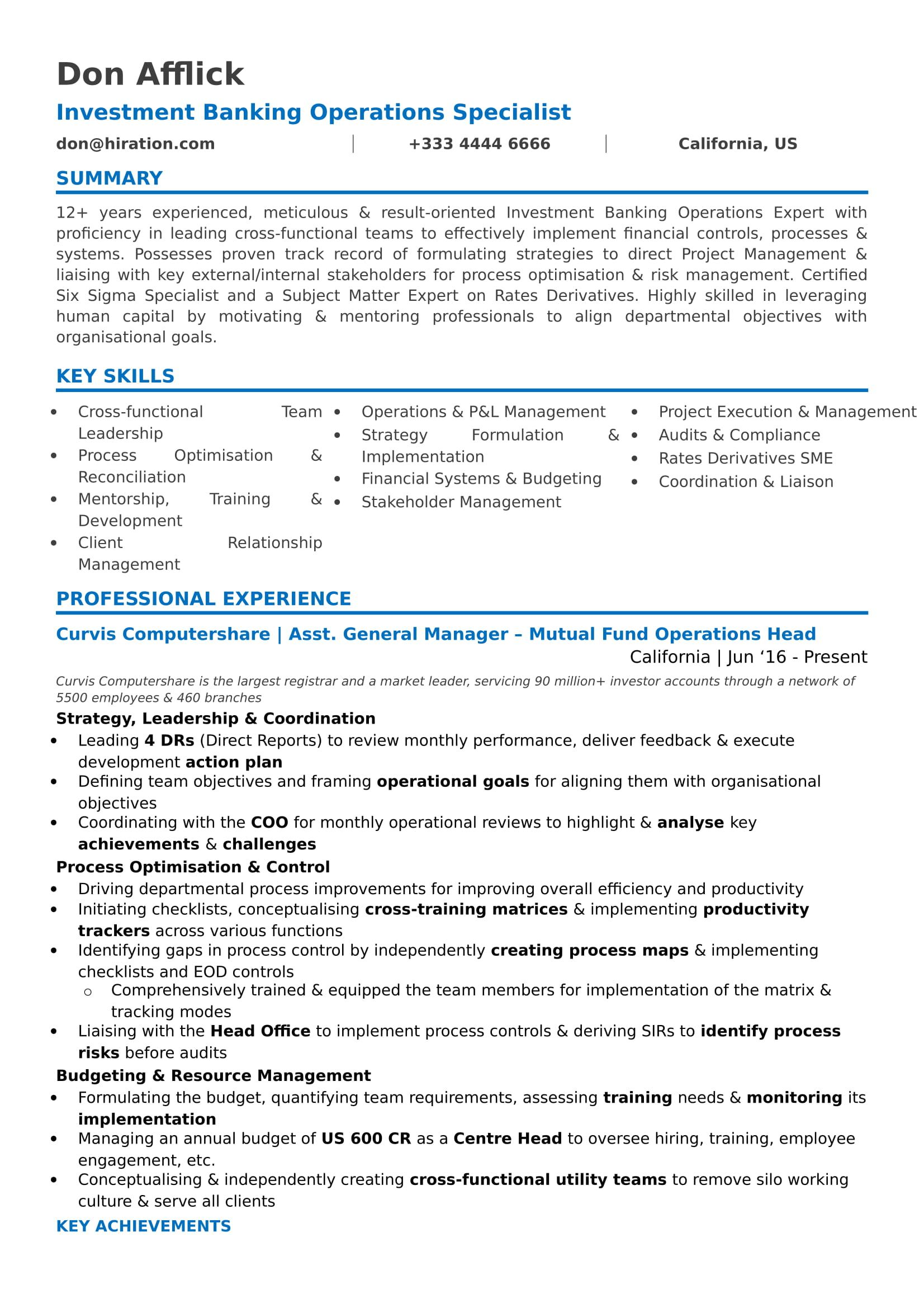 career change resume guide to for summary or objective hiration rohit mahagaonkar cv Resume Summary Or Objective For Resume