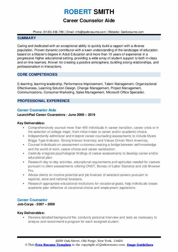 career counselor resume samples qwikresume counseling and writing pdf massage therapist Resume Career Counseling And Resume Writing