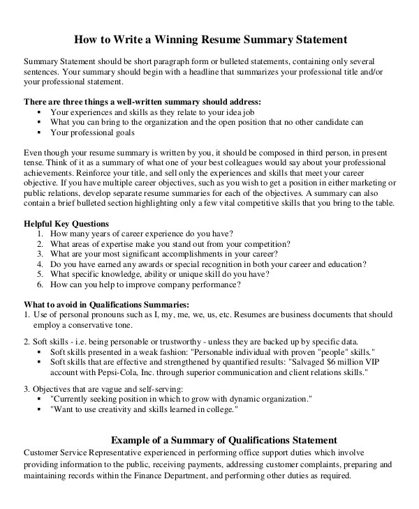 career summary examples pdf resume statement health care assistant available upon request Resume Resume Statement Examples
