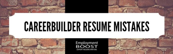 careerbuilder resume mistakes that can cost you interviews review sterile processing Resume Careerbuilder Resume Review