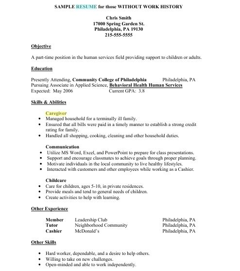 caregiver jobs example of resume samples job template examples description for skills Resume Caregiver Job Description For Resume