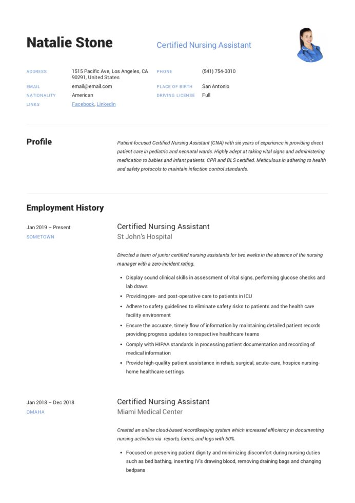 certified nursing assistant resume writing guide templates duties for does your need Resume Nursing Assistant Duties For Resume