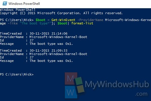 check if last boot was from fast startup full shutdown or hibernate in windows win resume Resume Win 10 Resume From Hibernation