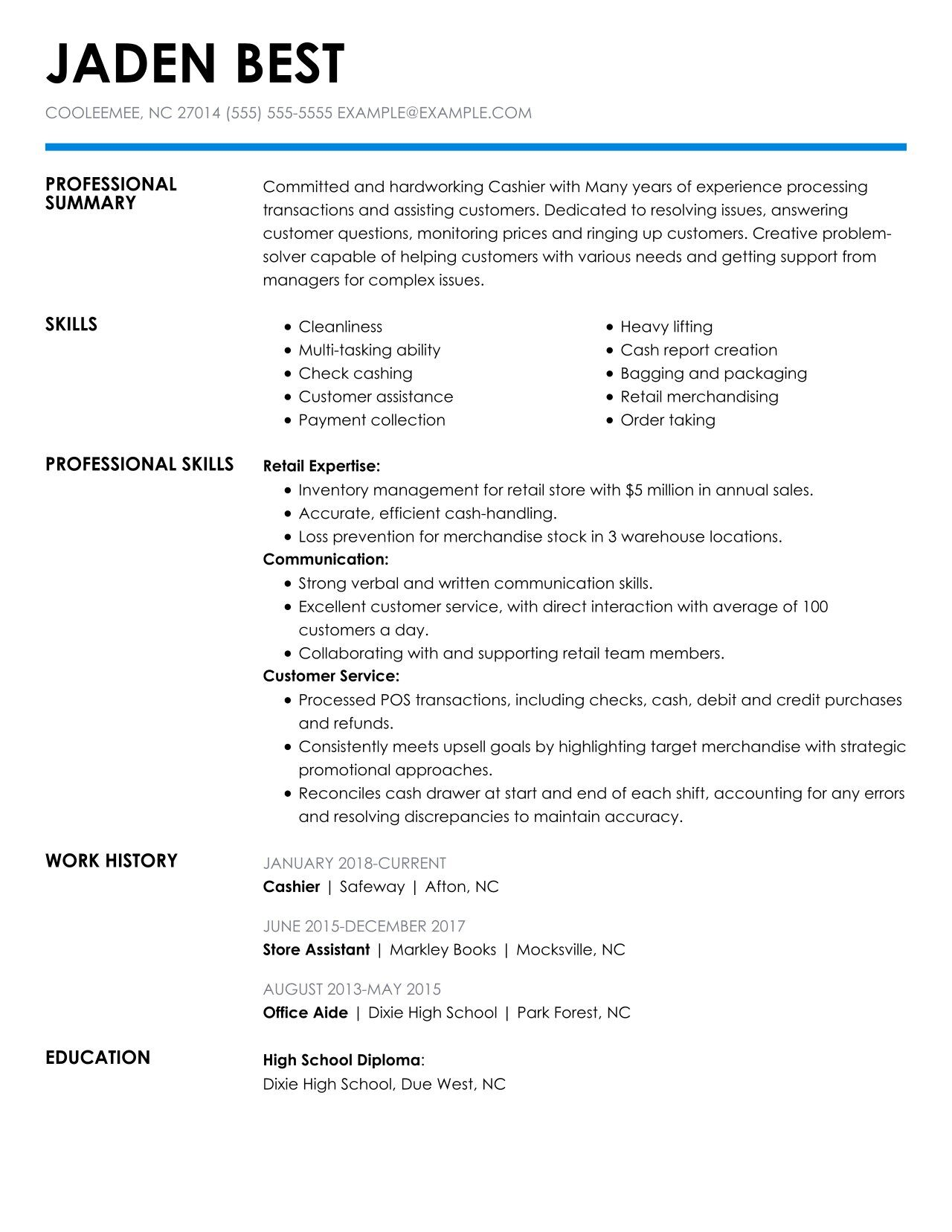check out the top retail resume examples by myperfectresume clothing job description for Resume Clothing Retail Job Description For Resume