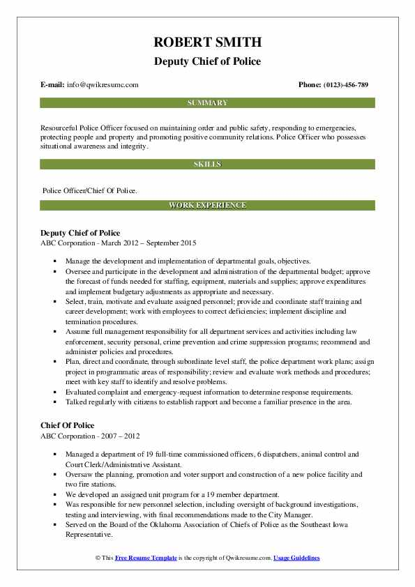 chief of police resume samples qwikresume law enforcement examples pdf quality assurance Resume Law Enforcement Resume Examples