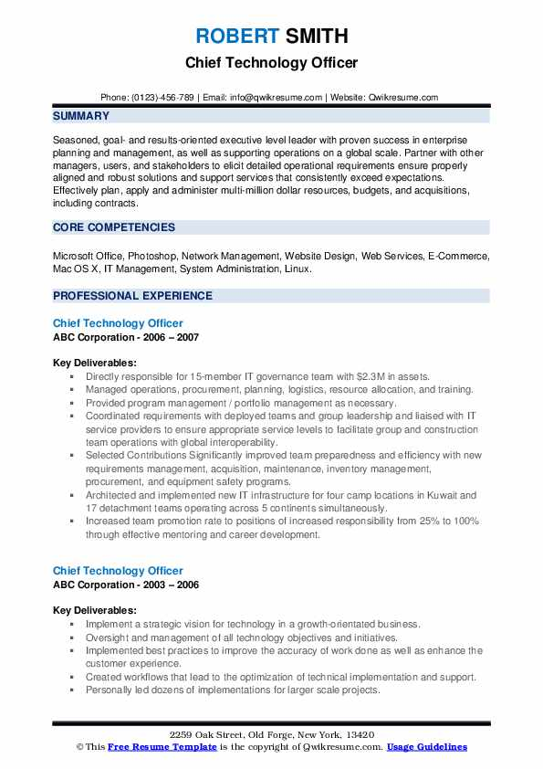chief technology officer resume samples qwikresume digital pdf write your for free Resume Chief Digital Officer Resume
