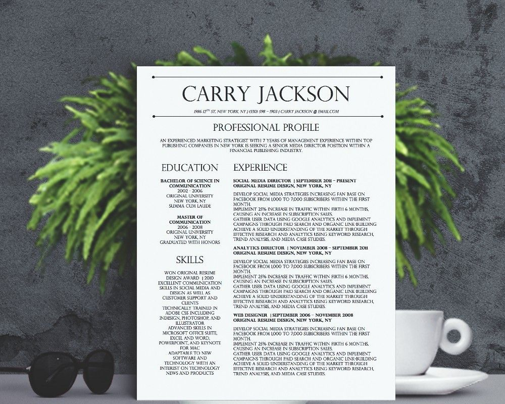 classy resume designs design templates adobe spark examples middleware admin easy format Resume Adobe Spark Resume Examples