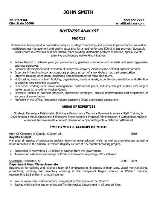 click here to this business analyst resume template http resumetemplates101 sample for Resume Business Analyst Resume Sample For Freshers