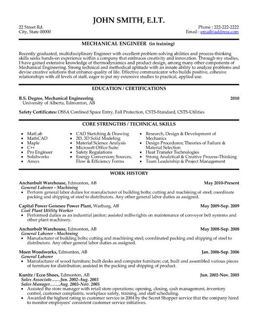 click here to this mechanical engineer resume template http resumete engineering Resume Engineering Resume Format