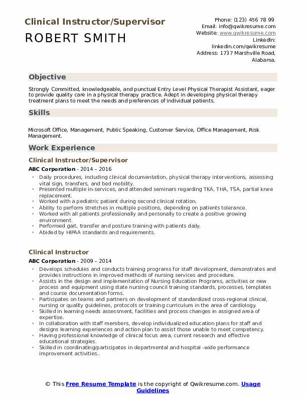 clinical instructor resume samples qwikresume nursing examples pdf art student template Resume Nursing Instructor Resume Examples