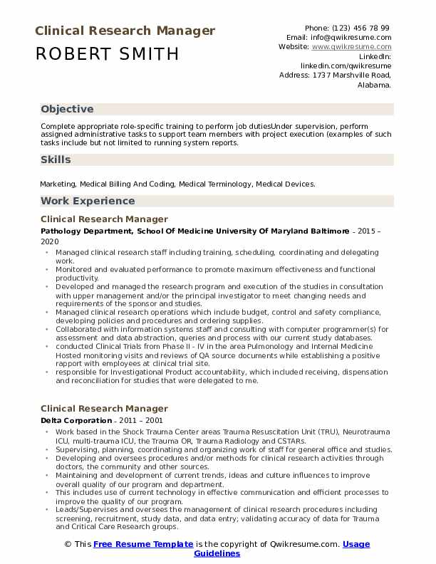 clinical research manager resume samples qwikresume project pdf value proposition Resume Clinical Project Manager Resume