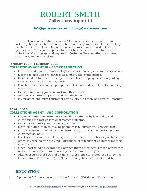 collections agent resume samples qwikresume collection job description pdf auto damage Resume Collection Agent Job Description Resume