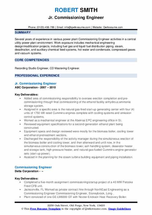 commissioning engineer resume samples qwikresume electrical testing and pdf consultants Resume Electrical Testing And Commissioning Engineer Resume