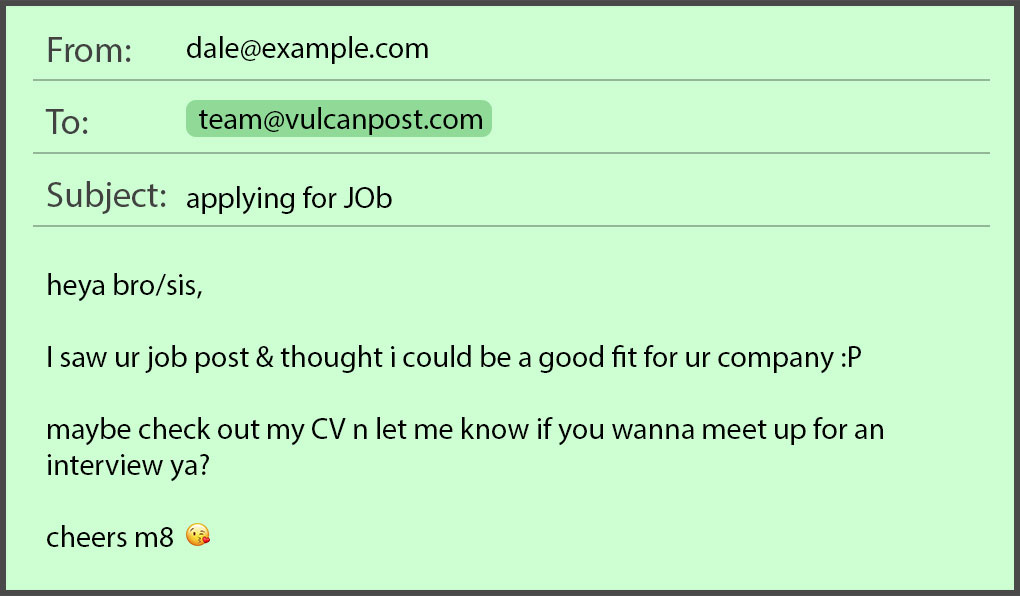 common job application mistakes in emails resumes by seekers sending resume via email Resume Sending Resume Via Email