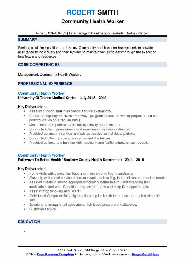 community health worker resume samples qwikresume service pdf for research assistant Resume Community Service Resume