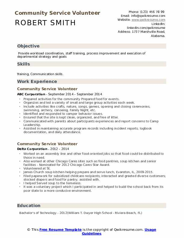 community service volunteer resume samples qwikresume pdf creative infographic publix Resume Community Service Resume