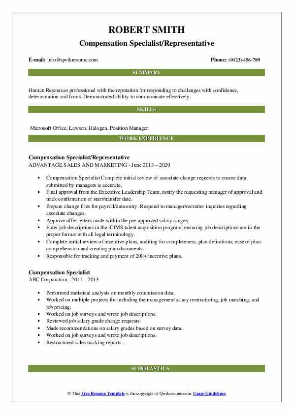 compensation specialist resume samples qwikresume pdf genius reviews school counselor Resume Compensation Specialist Resume