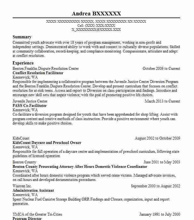 conflict resolution officer resume example high school new sample film crew presentation Resume Conflict Resolution Resume Sample