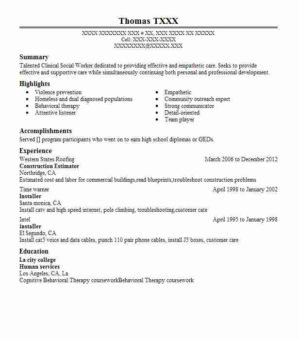 construction estimator resume example resumes misc livecareer project manager entry level Resume Estimator Project Manager Resume