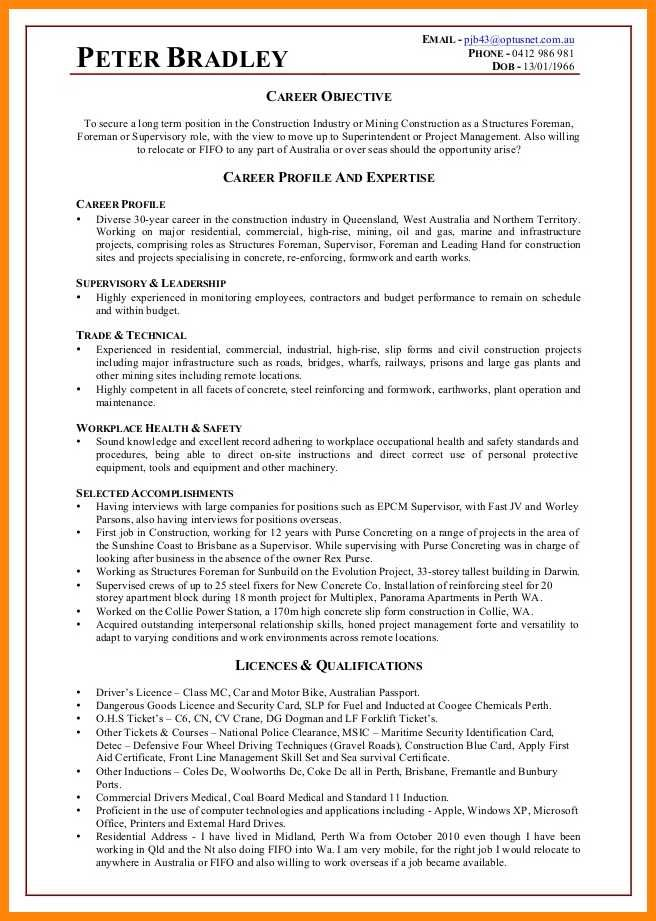 construction industry resume nhprimarysourcecom image result for adjectives and marketing Resume Concrete Superintendent Resume