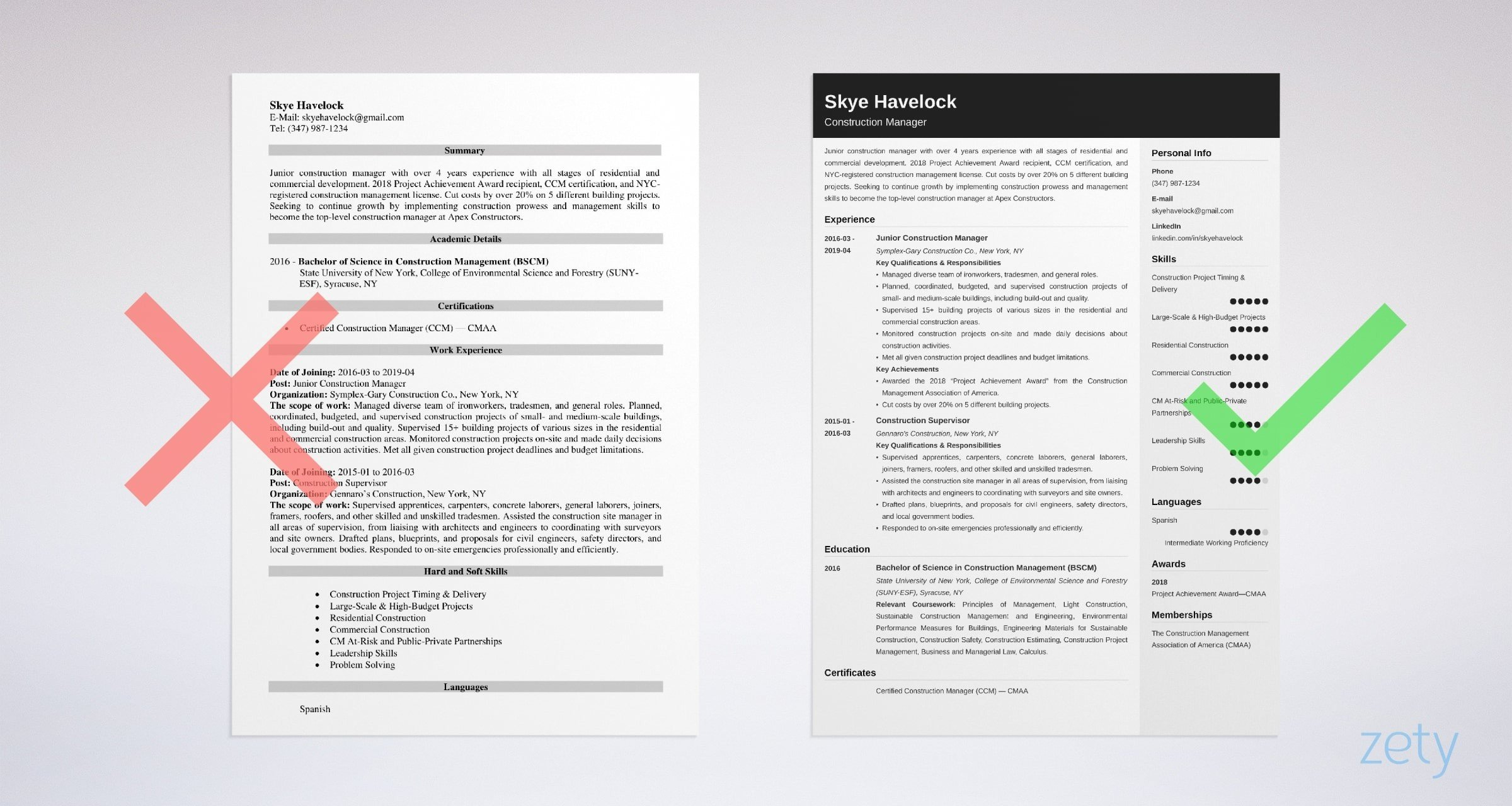 construction manager resume sample objective skills estimator project example creative Resume Estimator Project Manager Resume