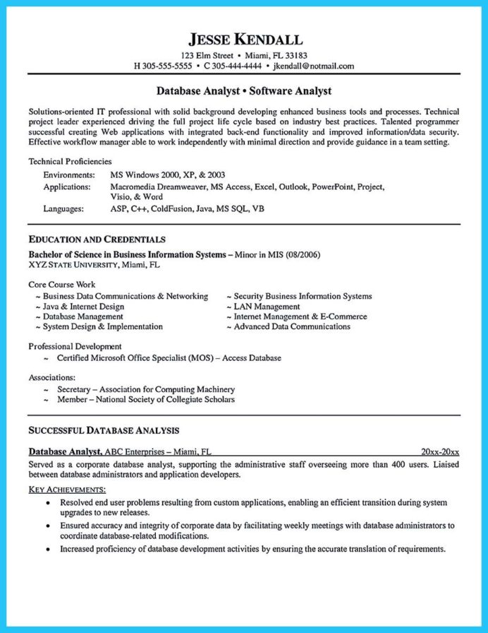 cool high quality data analyst resume sample from professionals business examples summary Resume Data Analyst Summary For Resume