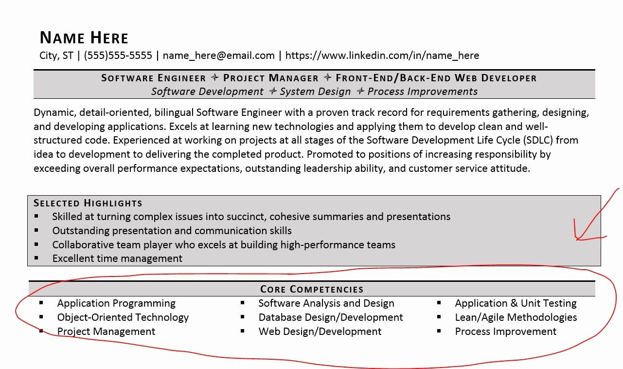 core competencies for resume customer service experienced candidate template fake talent Resume Customer Service Core Competencies Resume