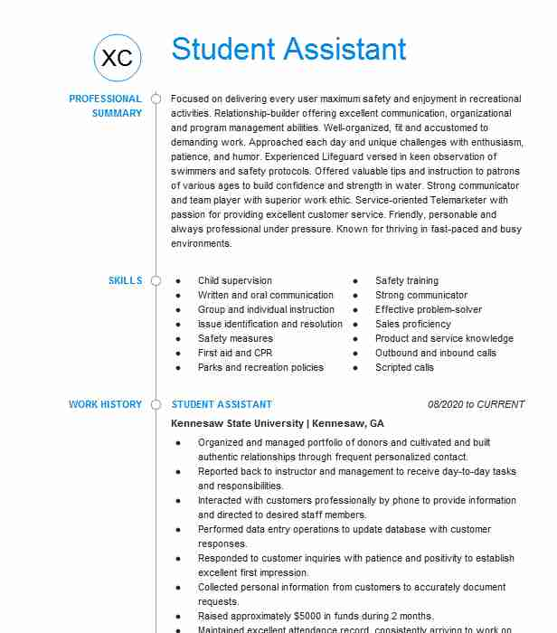 counselor and lifeguard resume example ymca of embedded software engineer writing Resume Day Camp Counselor Resume