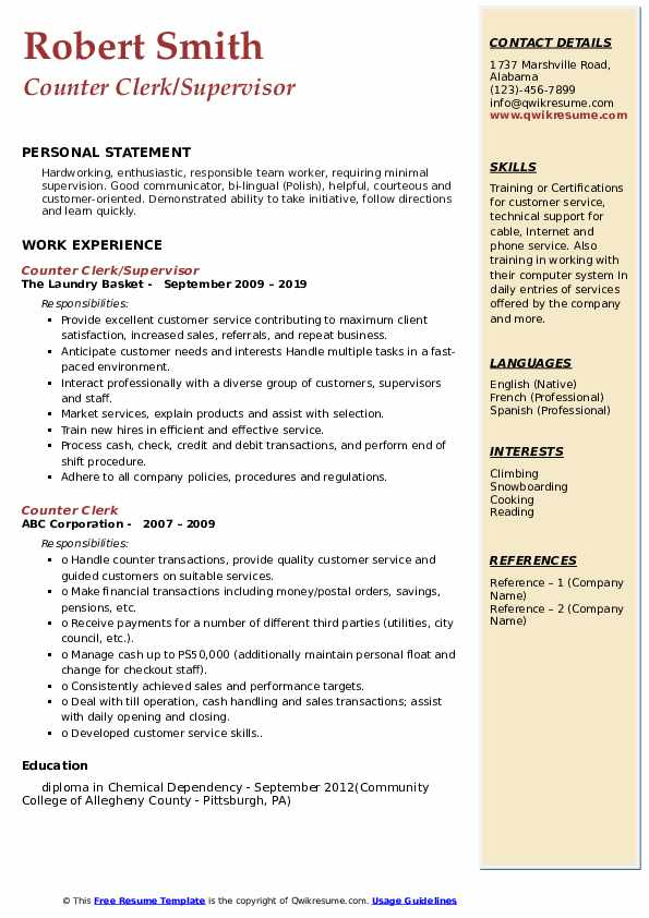 counter clerk resume samples qwikresume dry cleaners pdf legal office manager creative Resume Dry Cleaners Clerk Resume
