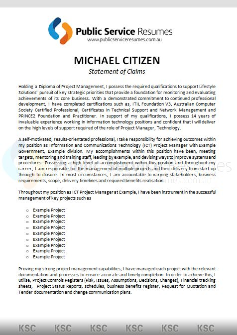 cover letter addressing selection criteria best letters resume examples public service Resume Resume Selection Criteria Examples