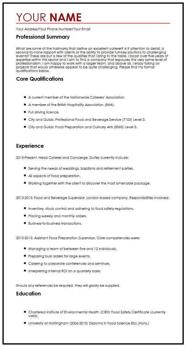 creative cv template myperfectcv current resume templates example servicenow cable Resume Current Resume Templates 2015