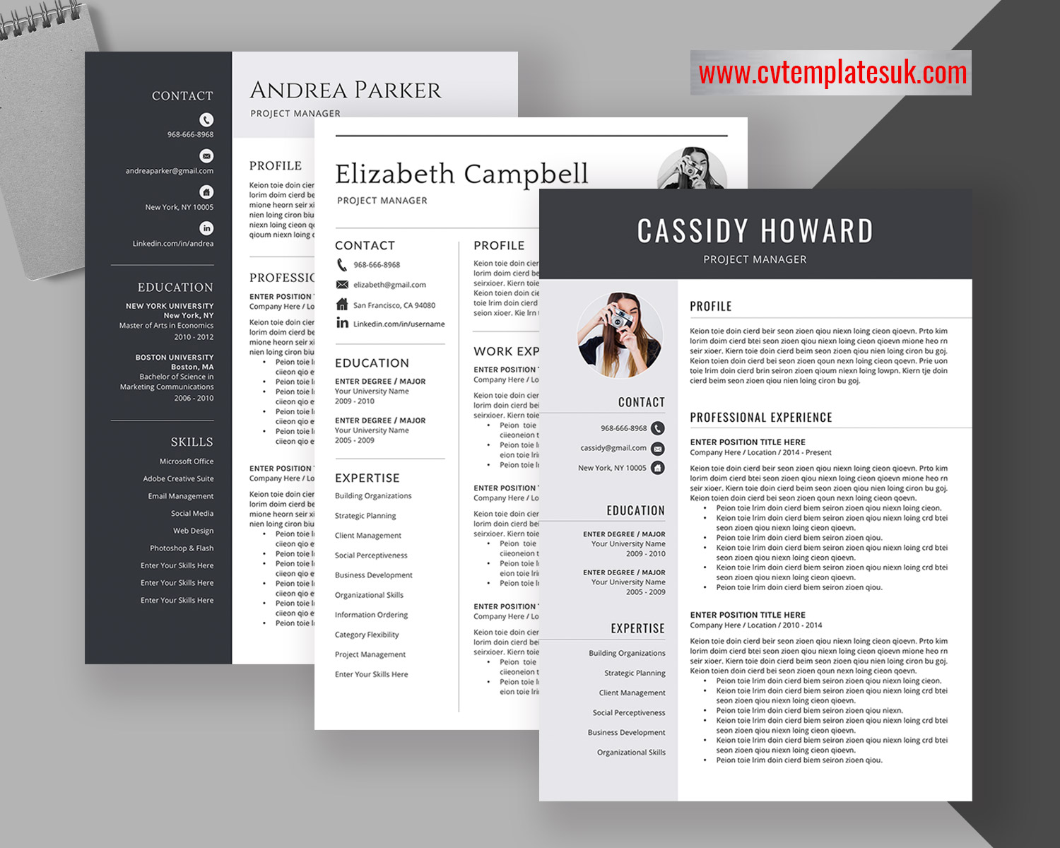 creative resume templates for microsoft word modern cv design with cover letter and Resume Resume References Template Download