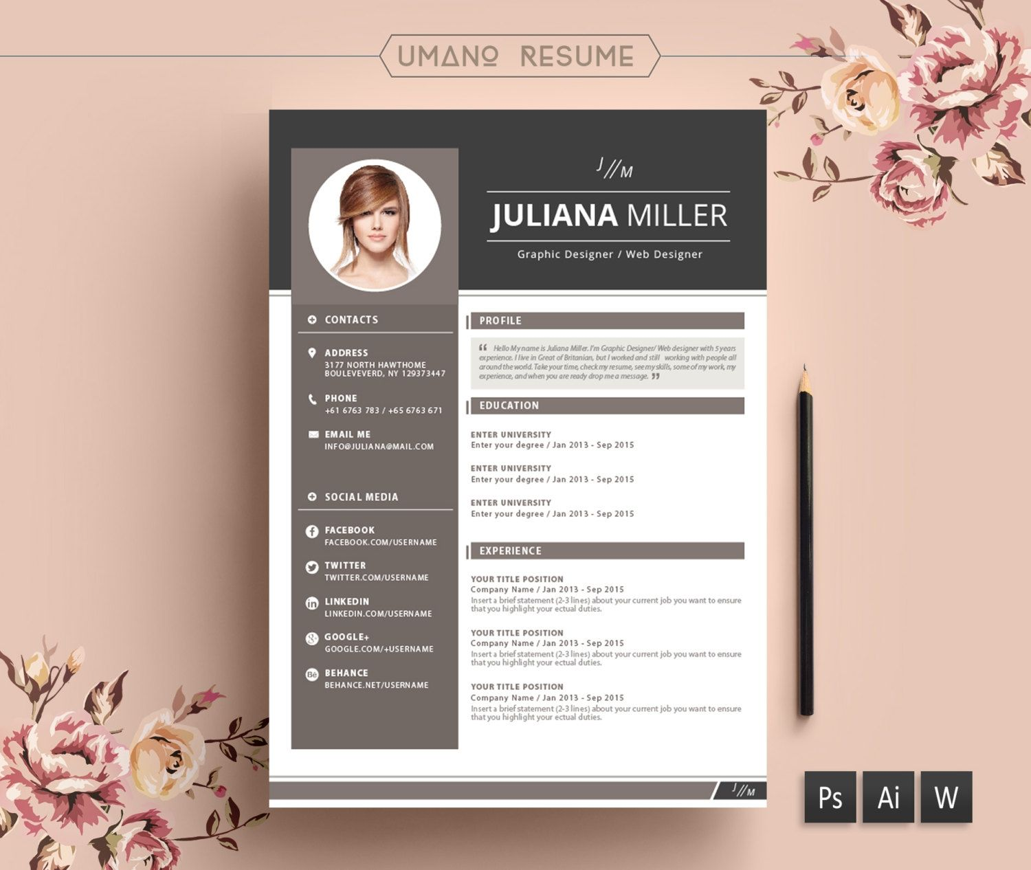 creative resume templates free examples within templ template word samples for over Resume Creative Resume Word Template Free Download