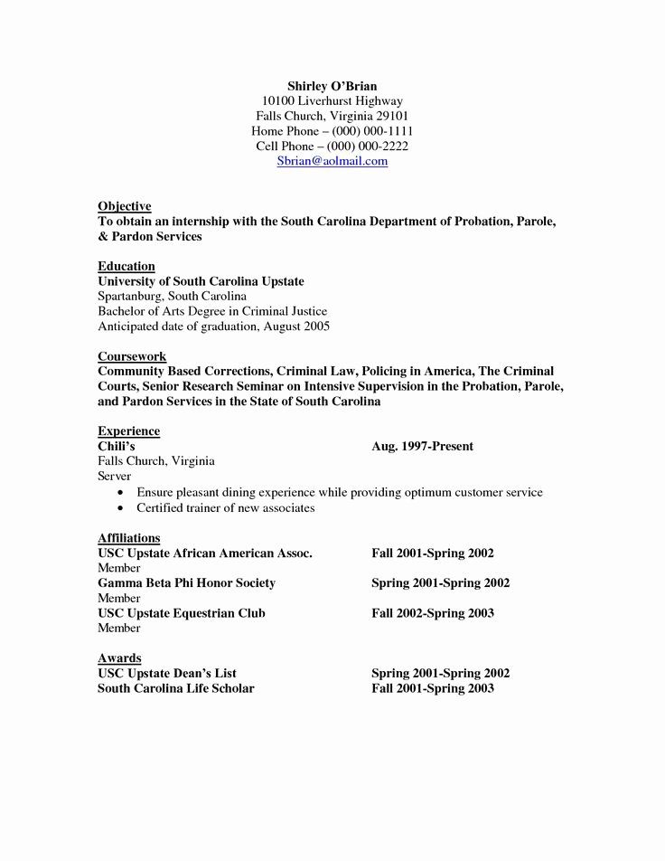 criminal justice resume examples beautiful objective res cover letter for sap s4 hana Resume Criminal Justice Resume Examples