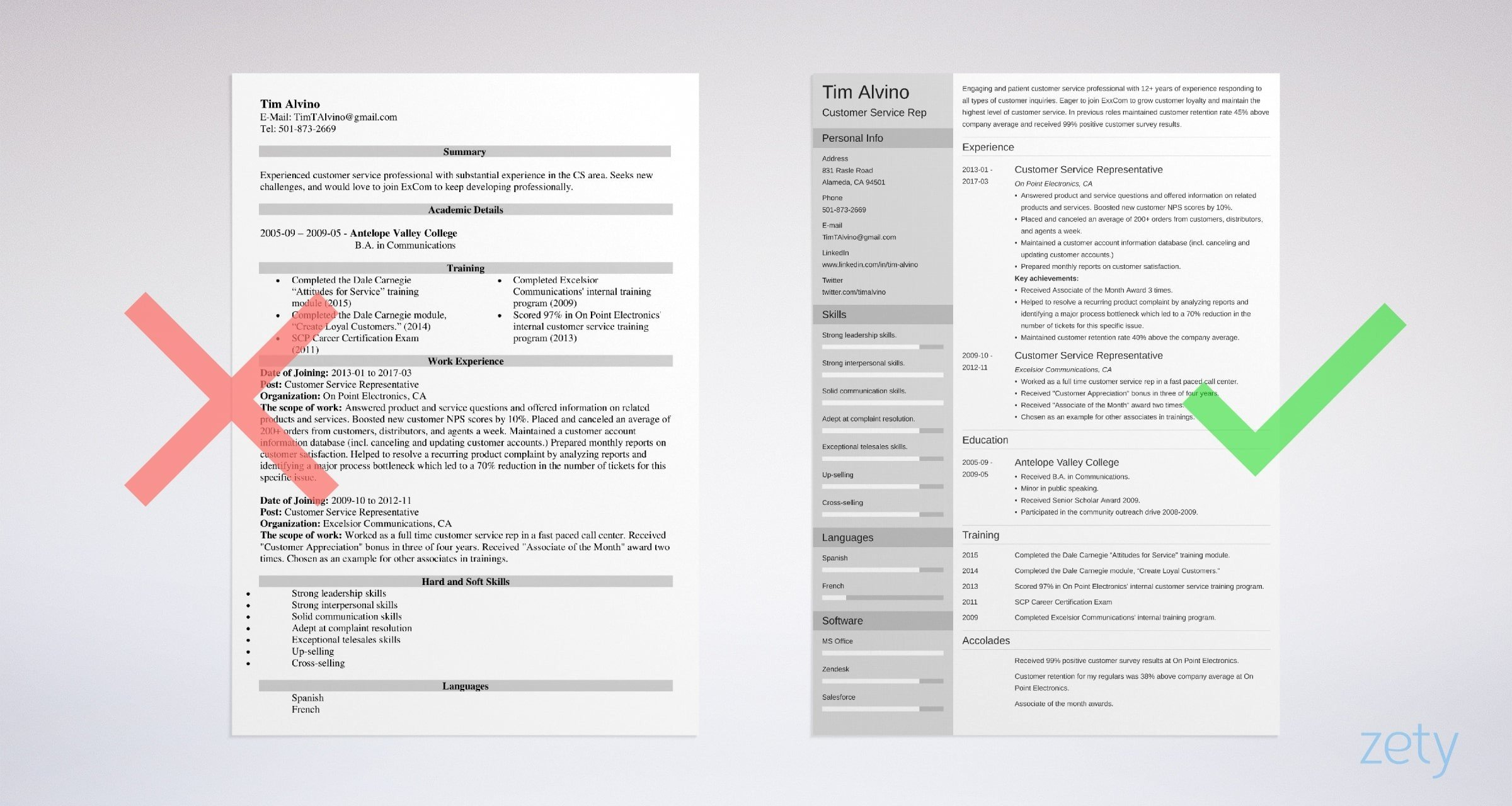 customer service representative resume examples doer vs achiever ask manager example Resume Customer Service Resume Examples