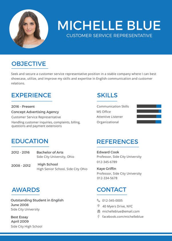 customer service representative resume free sample example format premium templates for Resume Resume For Customer Representative