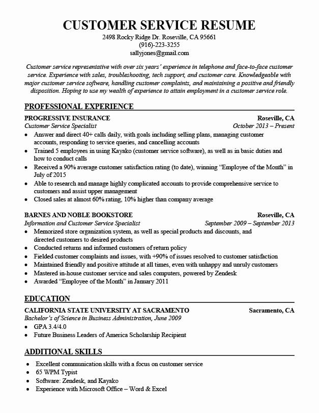 customer service resume new bination samples good examples experience planner gpa on eye Resume Service Experience Resume