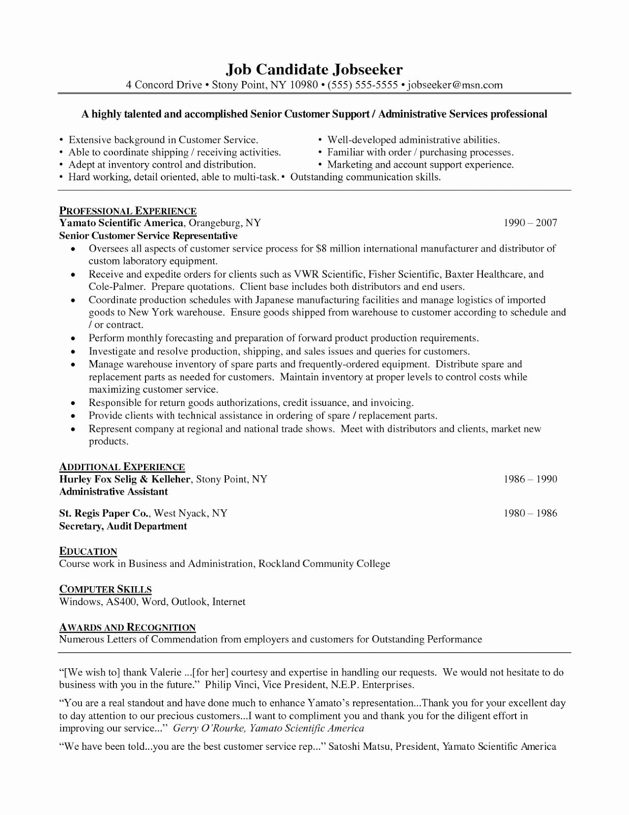 customer service resume objective examples lovely career for resum cover letter quick Resume Customer Service Resume Objective